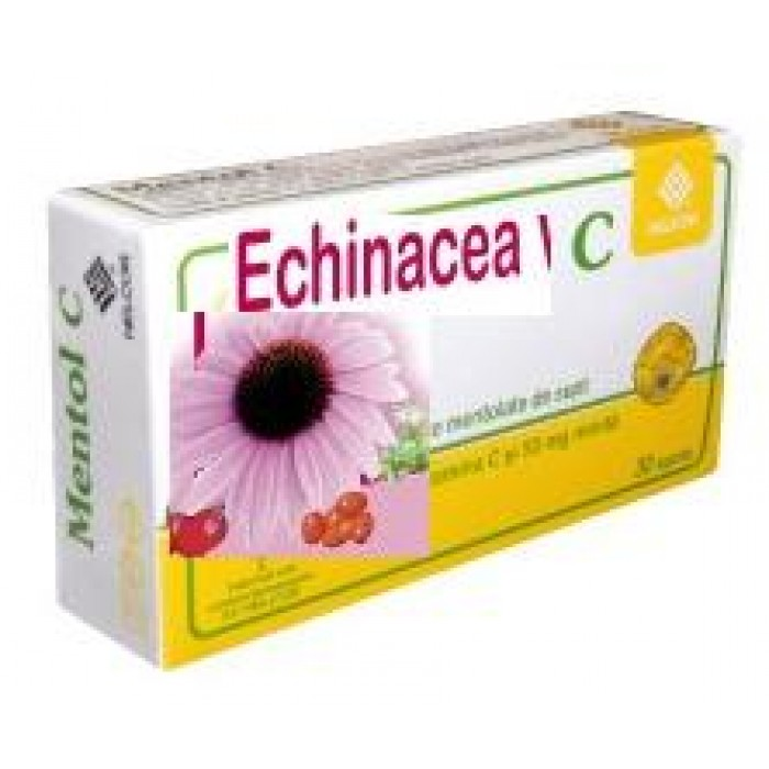 Vitamina C cu Echinacea 30Cps HELCOR (Imunostimulator)