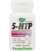 5-HTP Substanta Fericirii 30 Tablete Nature's Way Secom