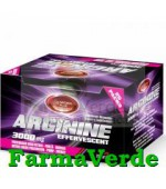 Arginina 3000 mg Efervescenta Cirese 25 doze Natural Plus