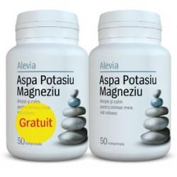 Aspa Potasiu Magneziu Pachet 1+1 Gratuit