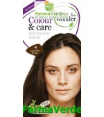 Colour&Care Vopsea par Medium Brown nr.4 Hairwonder Sysmed