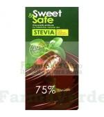 Ciocolata Amaruie Indulcitor Stevie 90 gr Sly Nutritia Diet