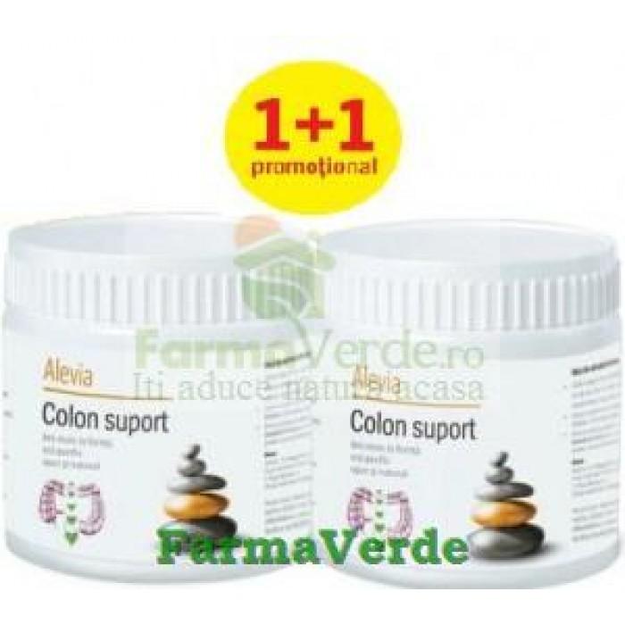 Colon Suport 2 X 240gr PROMO! Detoxifierea colonului Alevia