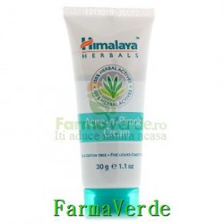 NOU! Crema anti-acneica Acne N Pimple 30 gr Himalaya Prisum