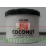 Crema de corp cu Cocos 500 ml Village Cosmetics