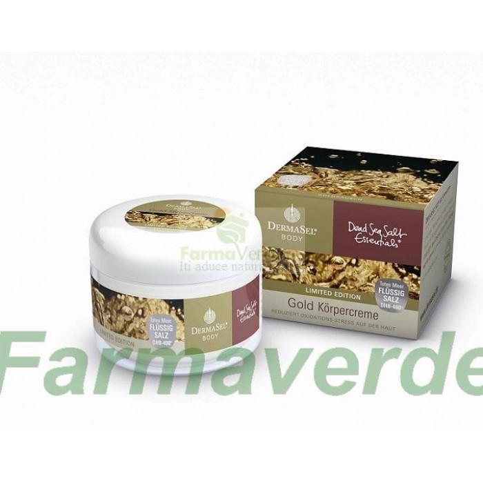 Crema de corp cu aur 250 ml Dermasel