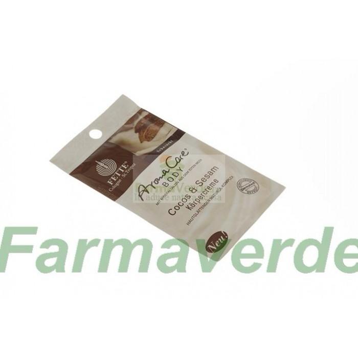 Crema de corp cu Cocos si Susan 30 ml Dermasel Sysmed