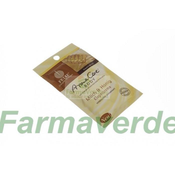 Crema de corp cu Lapte si Miere 30 ml Dermasel Sysmed