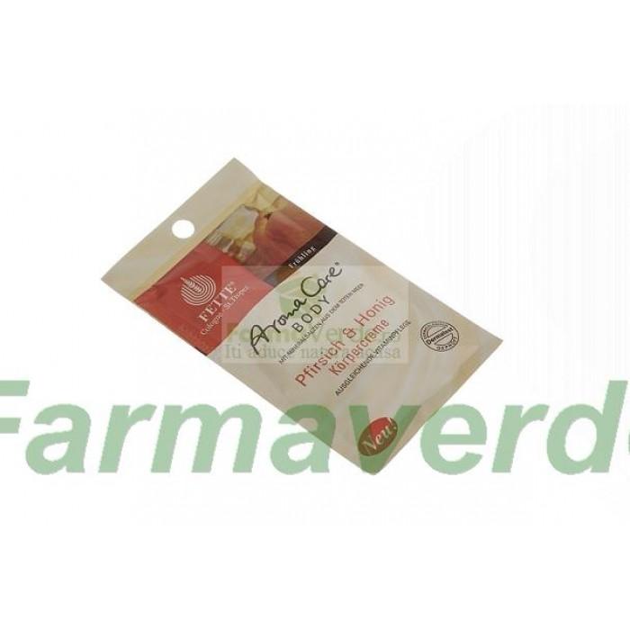 Crema de corp cu Piersici si Miere 30 ml Dermasel Sysmed