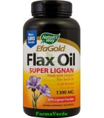 Flax Oil Super Lignan 100 cps Stres antioxidativ Secom