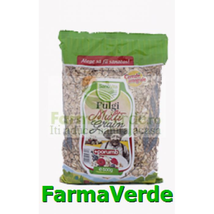 Fulgi Multi Grain cu porumb 500 gr SANO VITA
