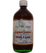Gel de Aloe Vera Luna si Argint Coloidal 500 ml Aghoras Invent