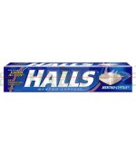 Halls MENTOLYPTUS Bomboane pentru gat 9 dropsuri Kraft Food