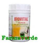 BIOVITAL ALFALFA Suc din Lucerna Verde Pulbere Instant 100 gr