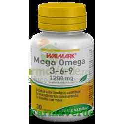 Mega Omega 3-6-9 1200 mg 30 cps Walmark