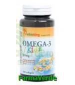 Omega-3 Kids Copii 500 mg 100 capsule Vitaking