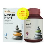 Pachet Masculin Potent 30cpr+Ginseng Siberian 30Cpr Alevia