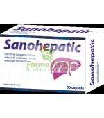 Sanohepatic Hepato-Protector 30 capsule 5+1 GRATIS Zdrovit