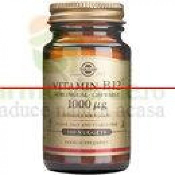 Solgar Methylcobalamin Vitamina B12 1000 mcg 30 tablete
