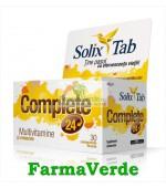 Solix Tab Complete 24 Multivitamine si Minerale 30 cpr Health