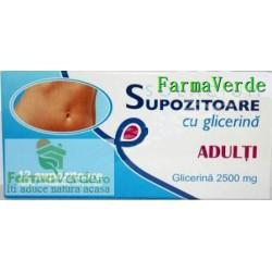 Supozitoare cu Glicerina Adulti 12 buc Solacium Pharma