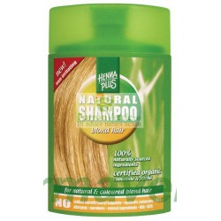 Sampon organic pentru parul blond 200 ml HennaPlus