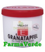 Crema de Corp cu Rodie si Vitamina E 500 ml Village Cosmetics