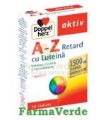 Doppelherz Aktiv Vitamine A-Z Retard cu Luteina 30 tablete