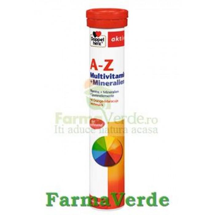Doppelherz A-Z Multivitamine+Minerale 15 Tablete efervescente