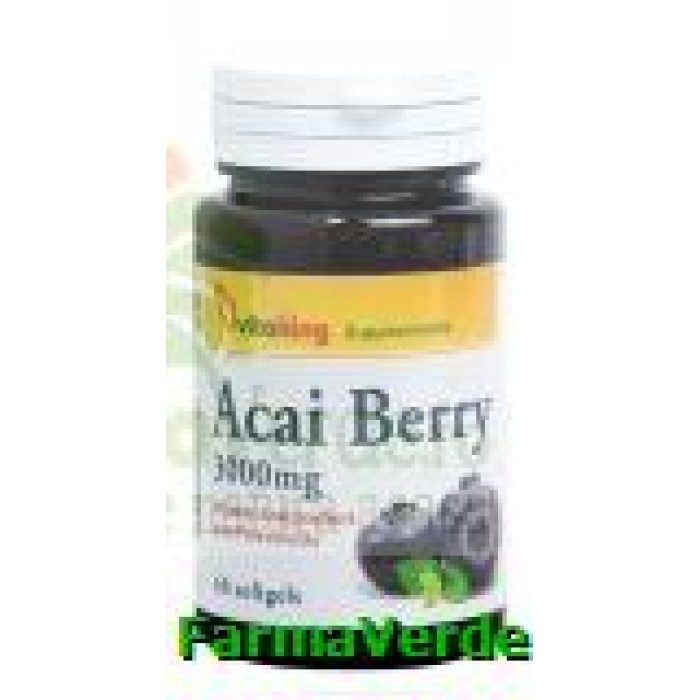 Acai berry 3000mg 60 capsule gelatinoase Vitaking