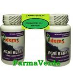 PROMO! ACAI BERRY De Slabit 60 cps+60cps GRATIS! ADAMS VISION
