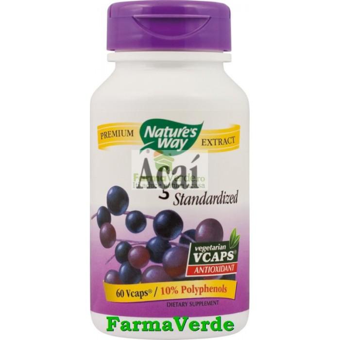 Acai SE Antioxidant 60 Capsule Natures's Way Secom
