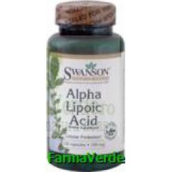 Acid Alfa Lipoic 100mg 120 capsule Vitaking
