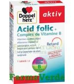 Doppelherz Aktiv Acid folic + Complex de Vitamine B 30 tablete