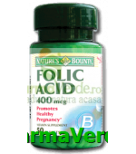 Acid Folic 400mg 50Cpr Walmark Nature's Bounty