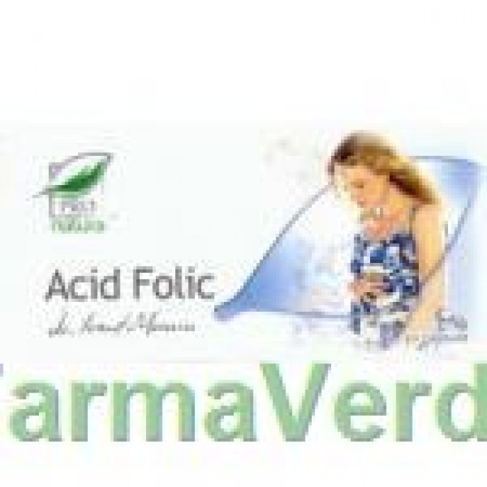 Acid folic 30 capsule Medica ProNatura