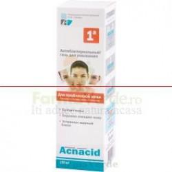 ACNACID Gel antibacterian purificator pentru ten acneic UAC1