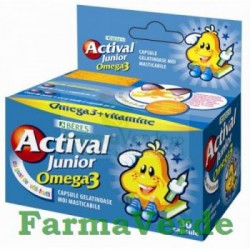 Beres Actival Junior Omega 3 capsule masticabile 30 bucati