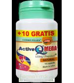 PROMO! ACTIVE Q10TM MEGA 100 mg UBIQUINOL 10 +10 cps GRATIS!