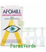 AFOMILL LUBRIFIANT ANTIIRITANT cu acid hialuronic picaturi 10 ml