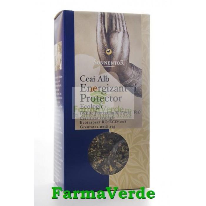 Ceai Alb Energizant Protector BIO 45 gr Sonnentor
