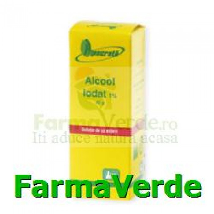 Alcool iodat 1% 40 gr Hipocrate