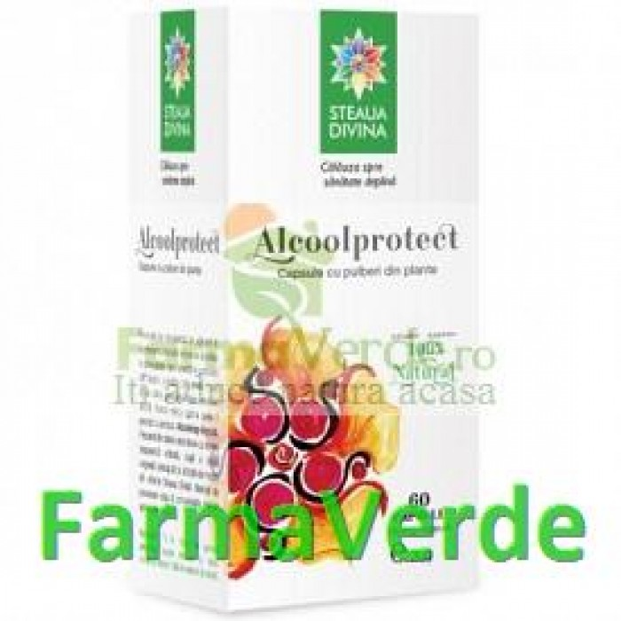 Alcool Protect 60 cps Steaua Divina Santo Raphael