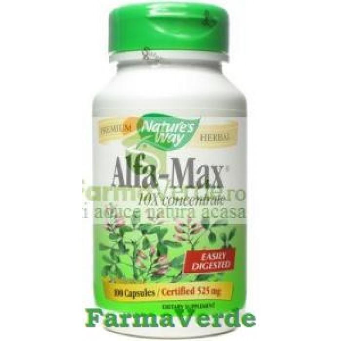 Alfa-Max 100 capsule Natures Way Secom