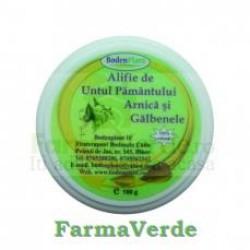 Alifie Untul pamantului, Arnica si Galbenele, 100 gr Bodenplant