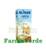 Alinan Calciu Baby Sirop 150 ml Fiterman Pharma