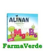 Alinan Magneziu + B6 Copii 20 cpr masticabile Fiterman Pharma