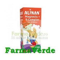 Alinan Sirop Copii Magneziu+Vitamina B6 150ml Fiterman Pharma