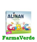 Alinan Calciu + D3 + C 20 cpr masticabile Fiterman Pharma