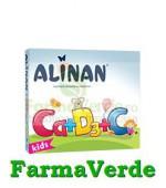 Alinan Calciu + D3 + C 20 cpr masticabile Fiterman Pharma